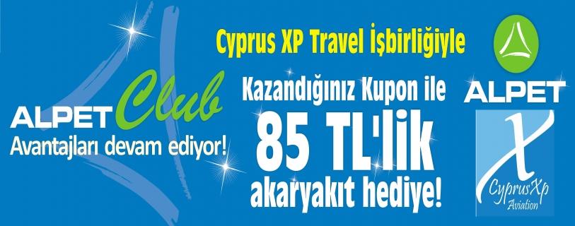 ALPET VE CYPRUS XP TRAVEL KAMPANYASI